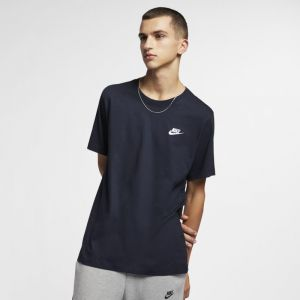 Nike Tee-shirt Sportswear Club pour Homme - Bleu - Taille S - Homme