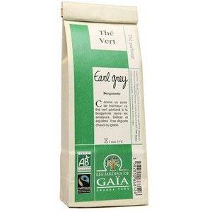 Les jardins de gaïa Thé vert Earl Grey 100g