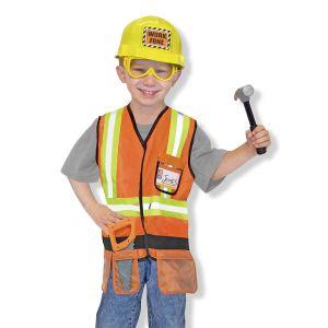 Melissa & Doug 14837 - Déguisement ouvrier de chantier