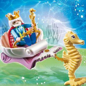 Playmobil 4815 - Roi des Mers avec Calèche