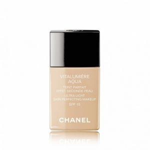 Chanel Vitalumière Aqua n°22 Beige Rosé - Teint parfait effet seconde peau SPF15