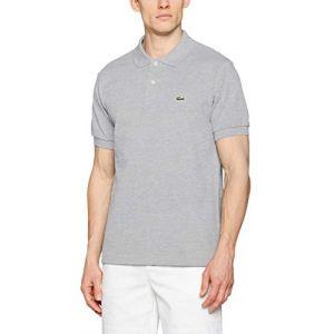 Lacoste Polo Homme Logo Polo Shirt, Gris Gris - Taille 36,EU XXL,EU S,EU M,EU L,EU XL,EU XS,EU 3XL