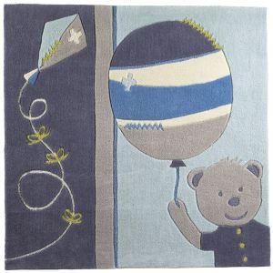Sauthon Tapis de chambre carré Lazare (110 x 110 cm)