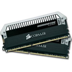 Image de Corsair CMD8GX3M2A2133C9 - Barrettes mémoire Dominator Platinum 2 x 4 Go DDR3 2133 MHz CL9 240 broches