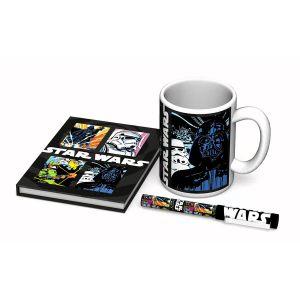 Coffret Star Wars mug, stylo et carnet