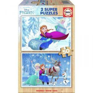 Educa 2 puzzles La Reine des Neiges 50 pièces