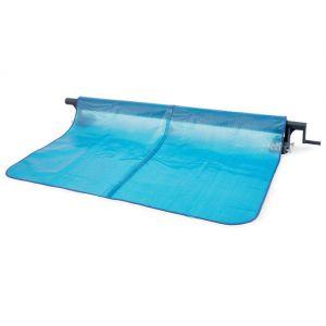 Intex Enrouleur + Bâche à bulles pour piscine tubulaire rectangulaire 5,49 x 2,74 m