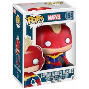 Funko Figurine Pop! Marvel : Captain Marvel masked
