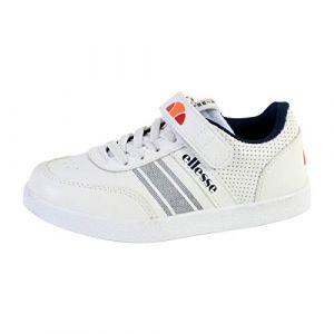 ELLESSE Sneakers Enfant El916405 Figaro, Blanc, 34 EU