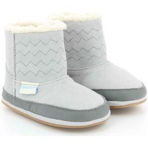 Robeez Boots, Chaussures de Naissance Mixte bébé, (Gris Clair 121), 22 EU