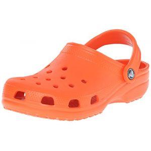 Crocs Classic, Mixte Adulte Sabots, Orange (Tangerine), 37-38 EU