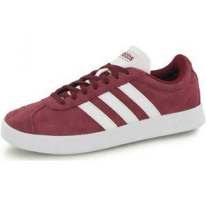 Adidas VL Court 2.0, Chaussures de Fitness Homme, Rouge