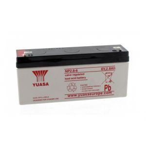 Yuasa Batterie Plomb 6V 2.8Ah NP2.8-6