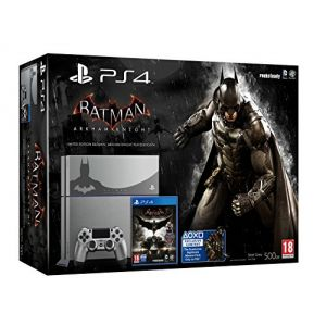 Sony PS4 500 Go steel grey + Batman Arkham Knight - édition limitée