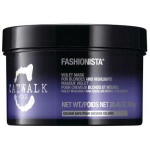 Tigi Catwalk Fashionista - Masque violet pour cheveux blonds et méchés