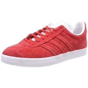 Adidas Gazelle Stitch and Turn Homme, Rouge (Rojuni/Ftwbla 000), 45 1/3 EU
