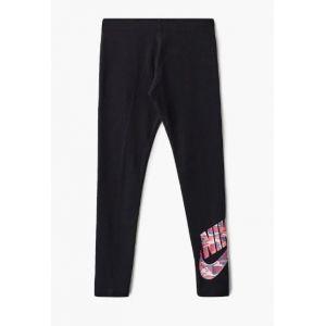 Nike Fav Camo Collant pour Fille M Black/(Pink)