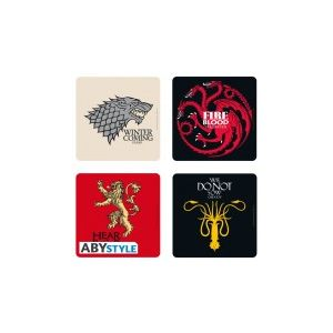 Abysse Corp 4 dessous de verre Game of Thrones