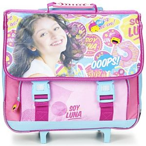 Cartable trolley 2 compartiments Soy Luna 41 cm