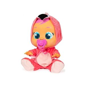 IMC Toys Cry Baby Fancy - Flamant Rose