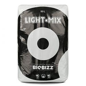 Biobizz Light-Mix Sac Terreau Mélange d'Empotage Léger Transparent, 50 L