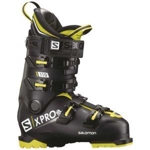 Salomon Chaussures de ski Chaussures De Ski X Pro 110 Bk / Acid Green / Wh Noir - Taille 27 1/2,28 1/2,26 1/2
