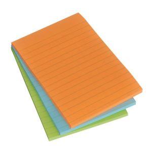 Post-It 3 notes repositionnalbes Sticky ligne 45 feuilles  (10,2x15,2 cm)