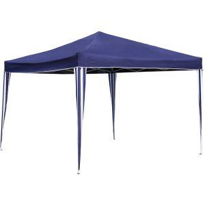 Bentley Tonnelle démontable pour camping/barbecue - style chapiteau - bleu - 3 x 3 m - CHARLES
