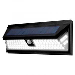 LIGHT+ Applique murale solaire 3 directions avec détecteur de mouvement et éclairage à LED LIGHT+