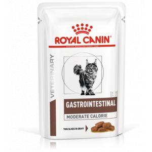 Royal Canin Gastro Intestinal Moderate Calorie Chat 12 sachets de 85g
