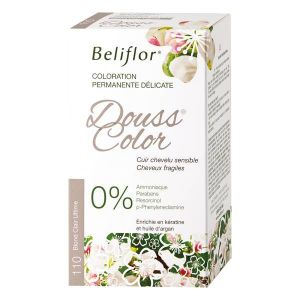 Beliflor Douss Color 110 Blond Clair Ultime - Coloration permanente délicate