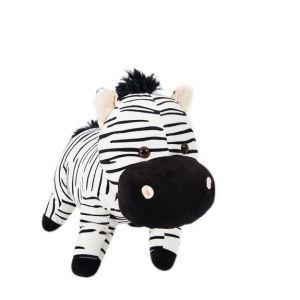 Image de Soft Friends Peluche Zèbre ou Hippopotame 48 cm
