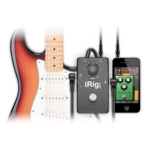 Ik multimedia iRigStomp - Interface pour guitare iPhone