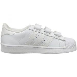 Adidas Superstar Foundation Strap Kids White White White 32