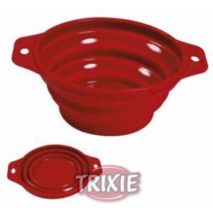 Trixie Gamelle de voyage silicone 0,5 l/ø 14 cm