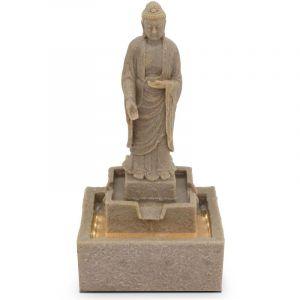 Oviala Fontaine Bouddha debout - Gris