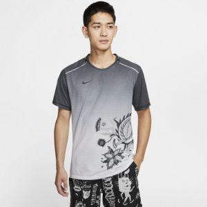 Nike Haut de running Rise 365 Wild Run pour Homme - Noir - Taille S - Male