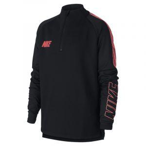 Nike Haut de football DriFIT Squad pour Enfant plus âgé Noir Couleur Noir Taille L