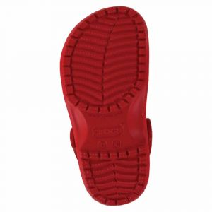 Crocs Classic Clog Kids, Sabots Mixte Enfant, Rouge (Pepper) 34/35 EU