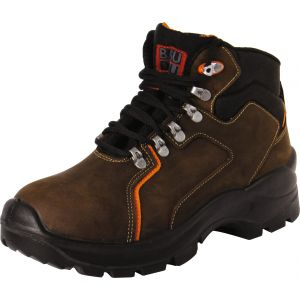 Baudou Chaussure de sécurité haute marron - Mérida - Pointure 40