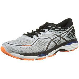 Asics Gel-Cumulus 19, Chaussures de Running Compétition Homme, Gris Glacier Grey/White/Bleu Victoria Blue 9601, 39 EU