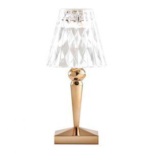 Kartell Baladeuses BATTERY-Lampe baladeuse LED d'extérieur rechargeable H22cm Doré