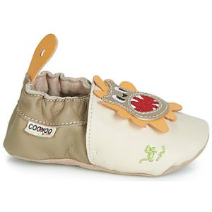 GBB Chaussons enfant PEROTO Beige - Taille 17,19,21,23