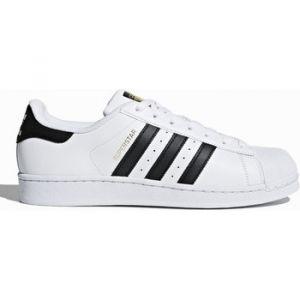 Adidas Superstar chaussures blanc noir 40 2/3 EU