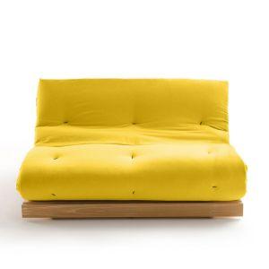 Matelas futon Latex pour banquette THAÏ Moutarde Taille 90x190 cm;160x200 cm
