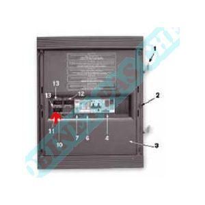 AquaService Voyant 230 V néon/transparent
