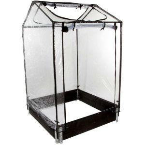 "Nortene Mini-serre ""Tom Nursy"" pour potager Modulo Garden - 100 x 100 x H160 cm"