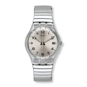 Swatch Montre Femme Originals Gent -Silverall L GM416A