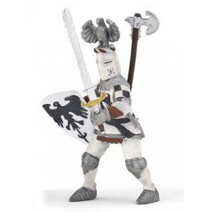 Papo 39785 - Figurine chevalier blanc au cimier