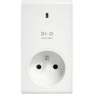 Chacon Prise variateur 200W compatible LED dimmables - DIO -